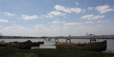 Through the Marshes - Along the Thames from Rainham to Purfleet