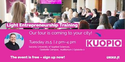 Light Entrepreneurship Training, Kuopio