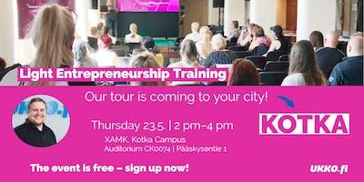 Light Entrepreneurship Training, Kotka