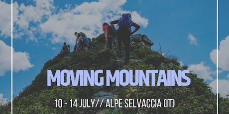 Moving Mountains // 5 Day Adventure // Team Mountain Expedition biglietti