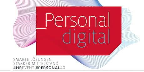 _Personal digital – smarte Lösungen, starker Mittelstand (München) Tickets
