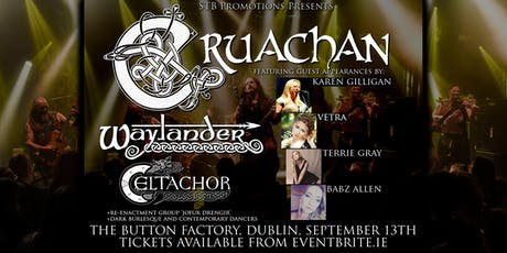 Cruachan (and four guest vocalists) + Waylander + Celtachor tickets