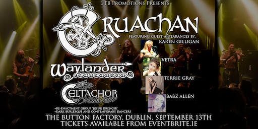 Cruachan (and four guest vocalists) + Waylander + Celtachor