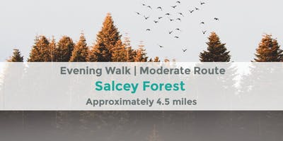 SALCEY FOREST| 4.5 MILES | MODERATE | NORTHANTS