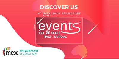 Discover Events In & Out at IMEX Frankfurt