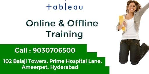 Tableau Training in Hyderabad, Ameerpet, @9030706500