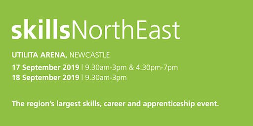 Skills North East 2019 - School / College Registration