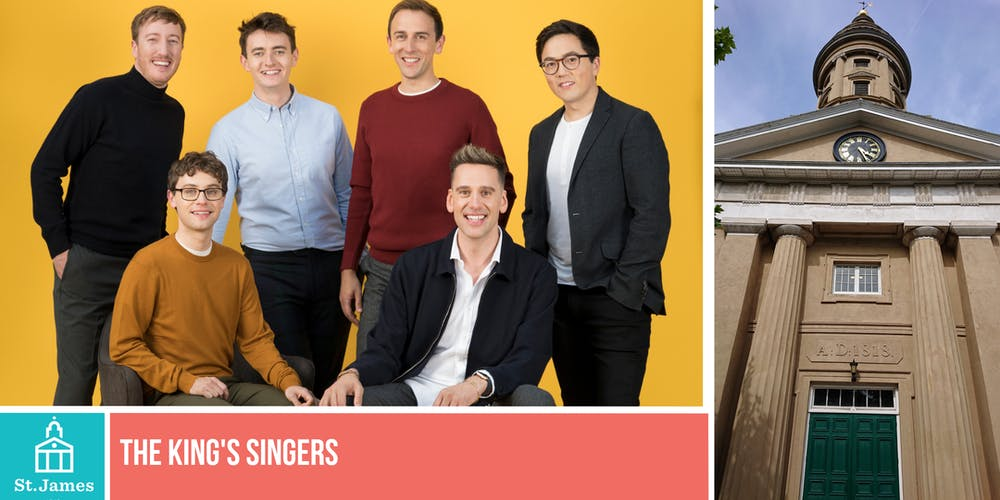 b2b491b8cd9 The King's Singers Tickets, Mon 5 Aug 2019 at 19:30   Eventbrite