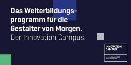 Innovation Campus 2019/2020 tickets