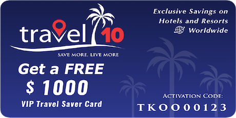 Travel 10 Save & Earn on Travel Bookings WorldWide (PH) tickets