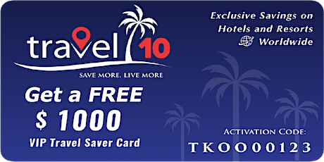 Travel 10 Save & Earn on Travel Bookings (PH) tickets