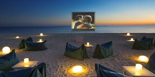 [This is a test] Movie Night on the beach