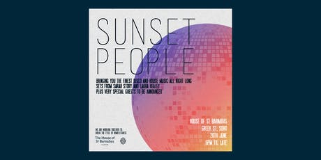 Sunset People tickets