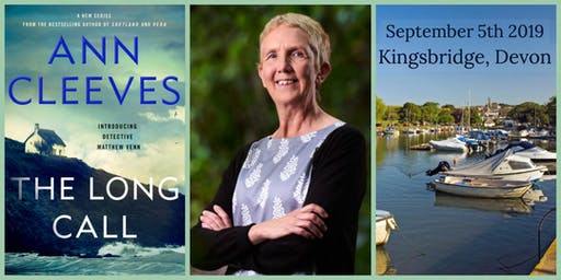 An Audience with  bestselling author Ann Cleeves