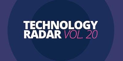 Technology Radar Vol 20 Präsentation Stuttgart