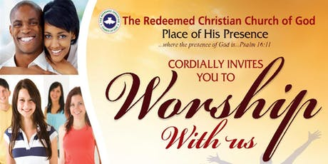Worship in God's Presence tickets