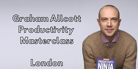 The Graham Allcott Productivity Masterclass tickets