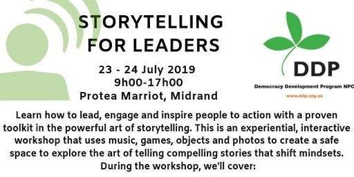 STORYTELLING WORKSHOP FOR LEADERS