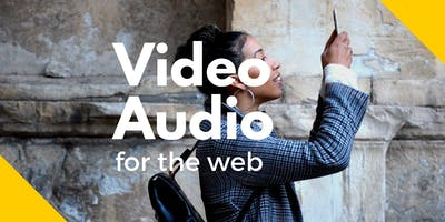 Video and audio training for charities, housing associations, community groups & public sector