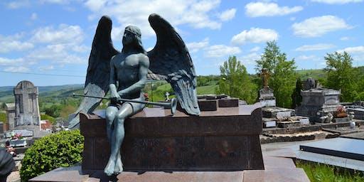 Visite du cimetière de Rodez