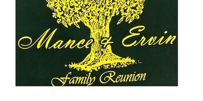 Mance-Ervin 2019 Family Reunion