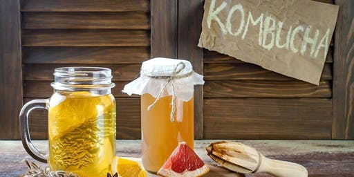 Kombucha and Fermented Drinks Workshop Stafford