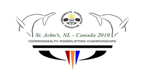 2019 Commonwealth Powerlifting & Bench Press Championships Volunteers tickets