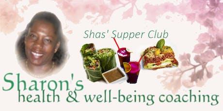 Shas' Supper Club Birmingham tickets