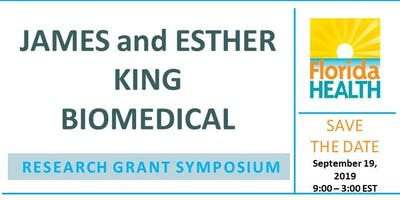 James and Esther King Biomedical Research Grant Symposium