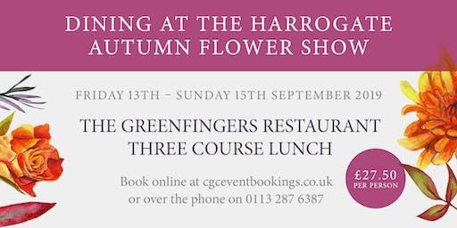 The Greenfingers Restaurant - 15th September 2019