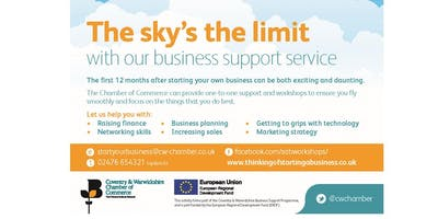Coventry- Thinking of starting a business (Session 1/4)