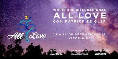 Workshop Internacional ALL LOVE, com Patrick Zeigler