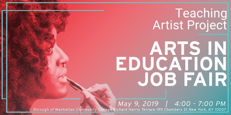 2019 Arts in Education Job Fair   Queens College MFA Bulletin Blog