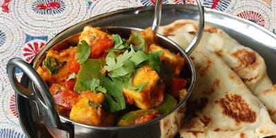 North Indian Paneer Peppers & Chapati Workshop
