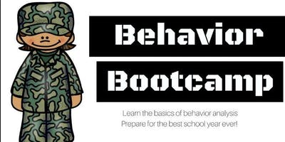 Behavior Bootcamp for School Personnel