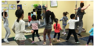 Zumba Kids Class: 5-7 Year Old Students