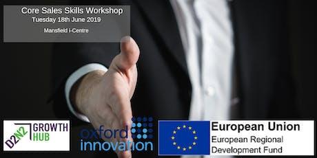 Core Sales Skills Workshop tickets
