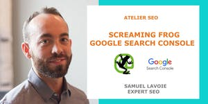 Atelier Screaming Frog SEO Spider et Google Search Cons...