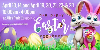 Green Meadows Easter Egg Hunt at Alley Park 2019!