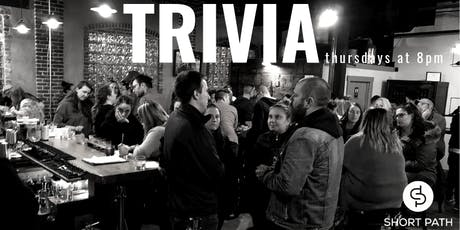 Trivia at Short Path Distillery tickets