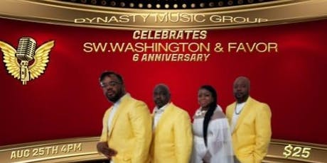 SW. Washington & Favor 6th Anniversary Celebration Concert tickets