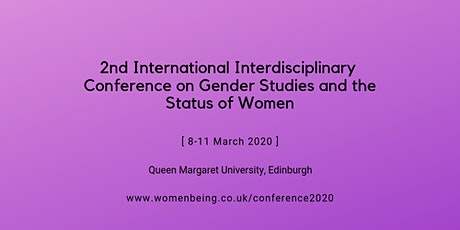 2nd International Interdisciplinary Conference on Gender Studies and the Status of Women tickets