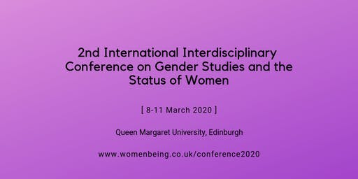 2nd International Interdisciplinary Conference on Gender Studies and the Status of Women