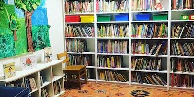 Library with Montclare Children's School's Lindsay Andretta