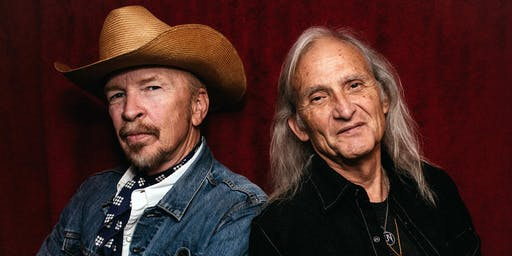 Dave Alvin & Jimmie Dale Gilmore w/ The Guilty Ones +  Taylor Scott Band & The Heifer Belles Live at Keep Smilin's Foothill Filmore @ The Auburn Odd Fellows Hall + Heifer Belles