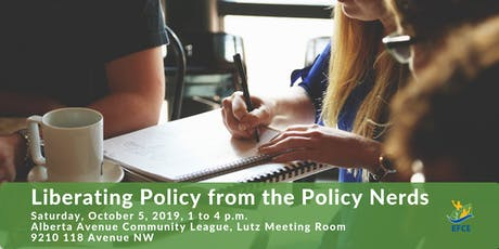 Liberating Policy from the Policy Nerds tickets
