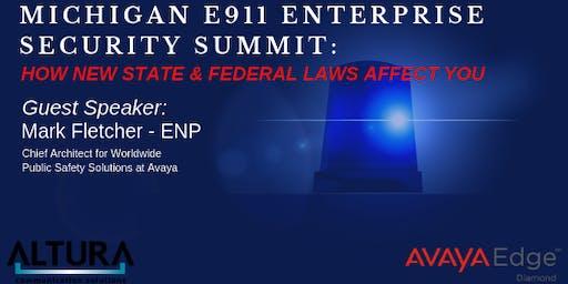 Michigan E911 Enterprise Security Summit - Grand Rapids