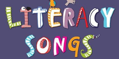 Literacy Songs - Twilight CPD for EYFS - KS1 teachers tickets