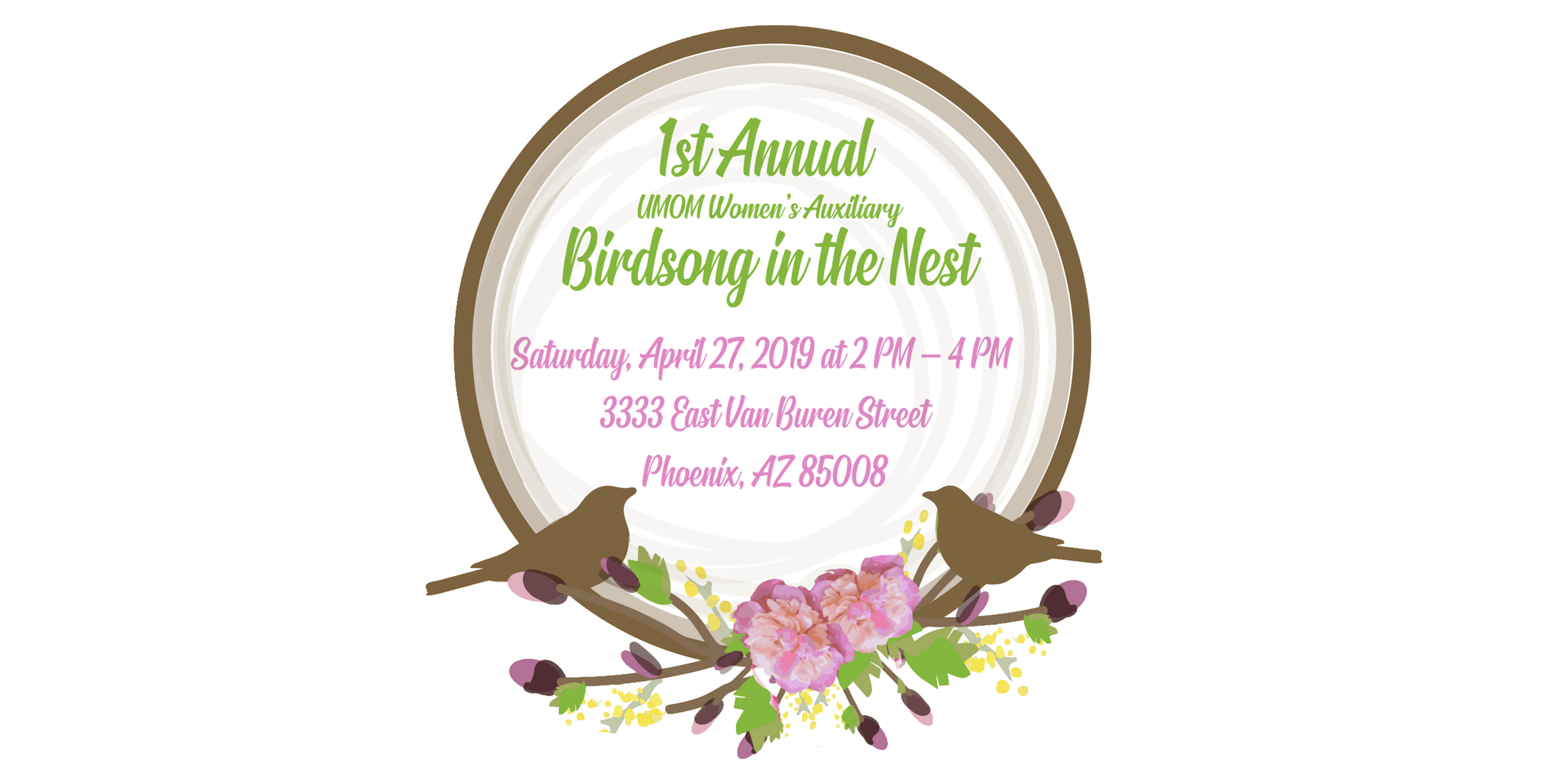 1st Annual Birdsong in the Nest