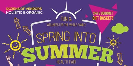 Spring Into Summer Health Fair tickets